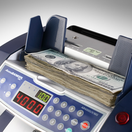 1-AccuBANKER AB 4000 UV/MG liczarka do banknotów