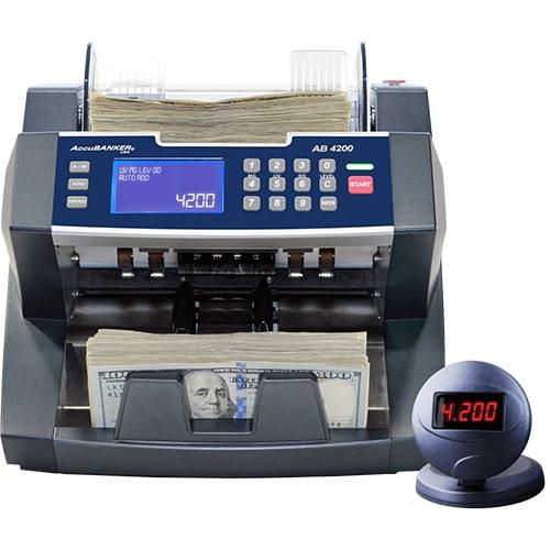 1-AccuBANKER AB 4200 UV/MG liczarka do banknotów